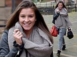 Brooke Vincent who has swapped the Coronation Street cobbles for a week on Key 103 radio as their guest breakfast presenter.\nPIC BY MARK CAMPBELL/MCPIX 07778 526193