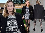PARIS, FRANCE - JANUARY 26:  Diane Kruger arrives at the Chanel fashion show Paris Fashion Week Haute Coture Spring /Summer 2016 on January 26, 2016 in Paris, France.  (Photo by Jacopo Raule/GC Images)