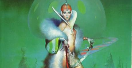 A cover for Joanna Russ' 1975 novel The Female Man. Credit: giantfreakinrobot.com.
