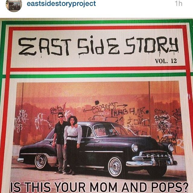 🎭EAST SIDE STORY🎭 Please check out this new IG dedicated to #EastSideStory compilations and support my homegirl's exciting new project. Got any info? Give @eastsidestoryproject a follow! ✊