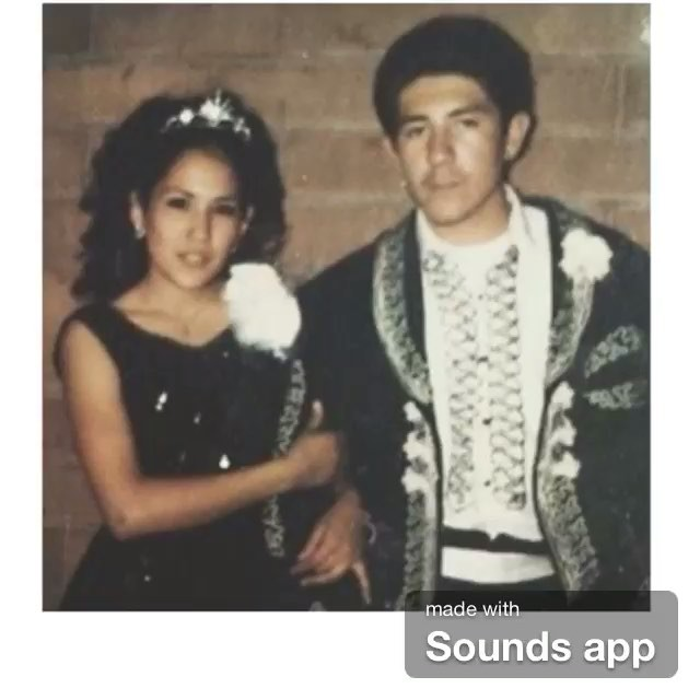 """mom and pops at Montclair HS 1971 Cinco de Mayo Dance "" - (photo by: @cardo9877 ) ✊🏽"