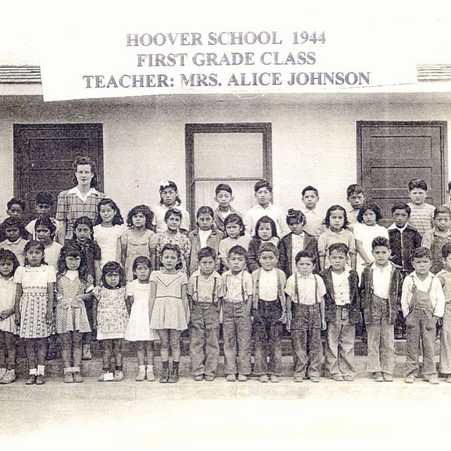 "In 1945, Mexican parents tried to enroll their children into the Main Street Elementary School located in the #Westminster, #OrangeCounty, #California. Main Street School was an Anglo school not an integrated school. The children were turned away from the school and sent to Hoover School (see photograph), a ""Mexican"" elementary school. As the Mendez parents, Gonzalo and Felicitas, attempted to enroll their children at the Main Street School their children were refused admission because they were Mexican.  The defense claimed that the Mexican American children possessed contagious diseases, had poor moral habits, were inferior in their personal hygiene, spoke only Spanish and lacked English speaking skills. Thus, the children are unqualified to attend Anglo schools and facilities. Despite much opposition from the Anglo Orange County community, in 1946, federal judge Paul J. McCormick ruled in favor of Mendezes and the co-plaintiffs. McCormick found that the segregation of Mexican Americans in public schools was a violation of the state law and unconstitutional under the Fourteenth Amendment because of the denial of due process and equal protection ✊ #FuckTrump #SeparateButEqual"