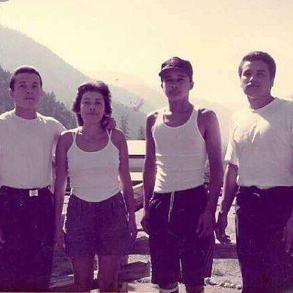 Huerito, Rita, Spooks & Spooky Venice Jks Circa early 1980's ( photo| @ScorpioWest90291 )