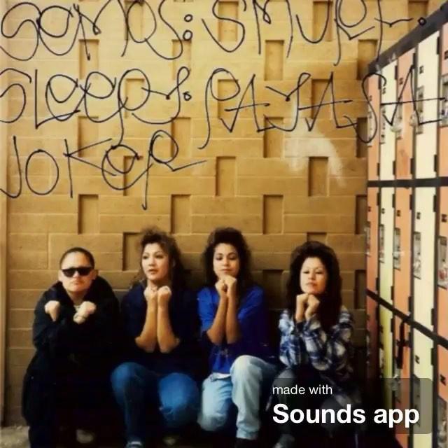 Special S/O to the homegirls in #Arizona Tiny locas sureñas yuma, Arizona 1992