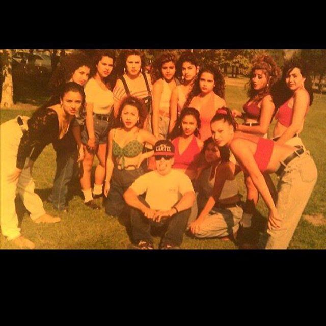 """😝 #SGV Party Crew """"Girl Cartel""""  La Puente & El Monte 1991"""