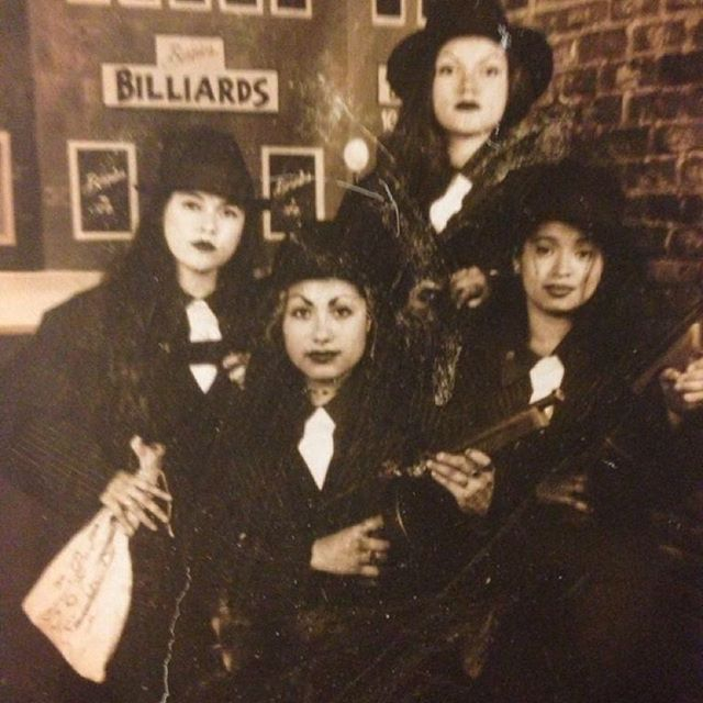 🔥🎓🔥🔫College Night at Magic Mountain 96 or 97 Santa Monica College (SMC). The homegirls from #SouthCentral LA. (Photo credit: @Lyzzystarr )