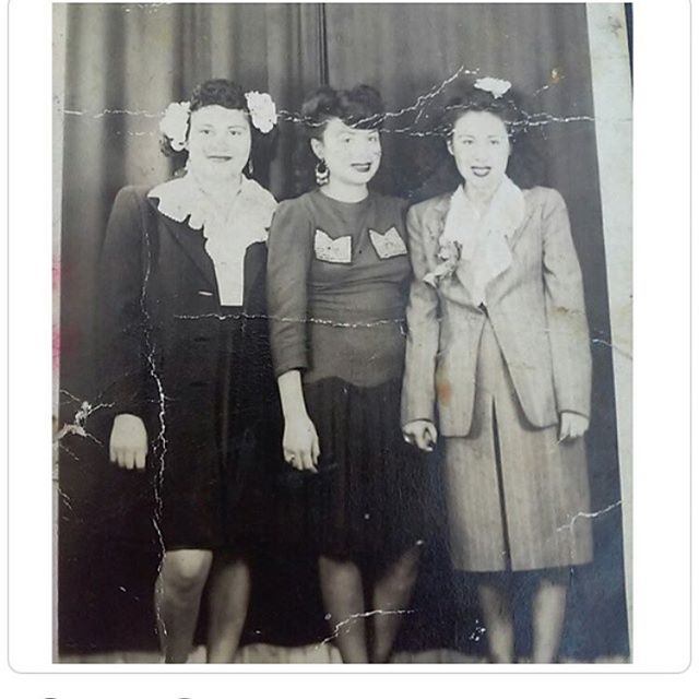 🙏Photo of The Day🙏Dope photo of @just_always and @sillierox  grandmother, Mary and her sisters from #EchoPark. Photo taken in #DTLA circa 1940s #ThisIsLosAngeles #DowntownLA