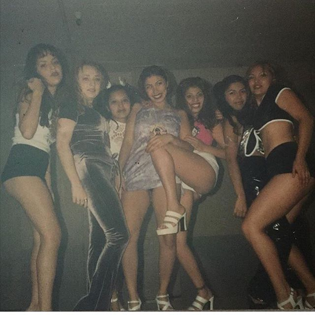 Sweet n Crazy party crew 1997. #QuackAttack event #Montebello bowling alley @lloveumore