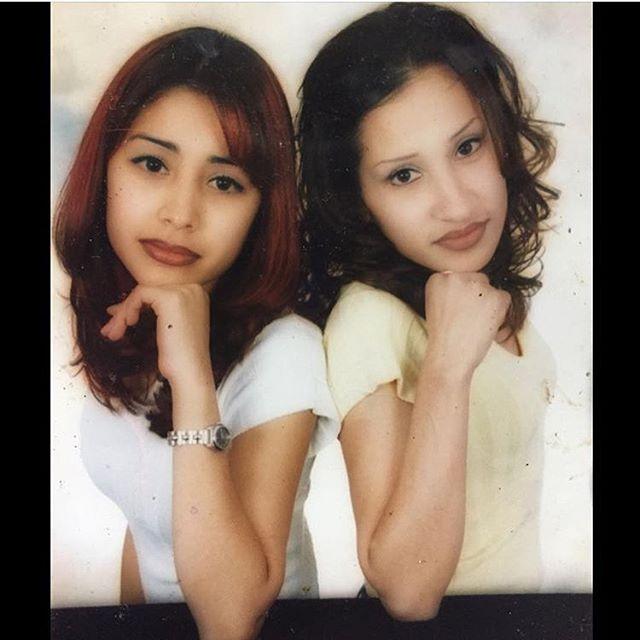 Viviana and Alicia(R.I.P) #corona California.  1998/99 (photo: @oh_lovely_angie )