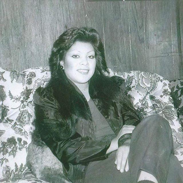 Florinda from Varrio Carmelas 1980s #NORWALK (photo by @rootbeerflo ) gracias