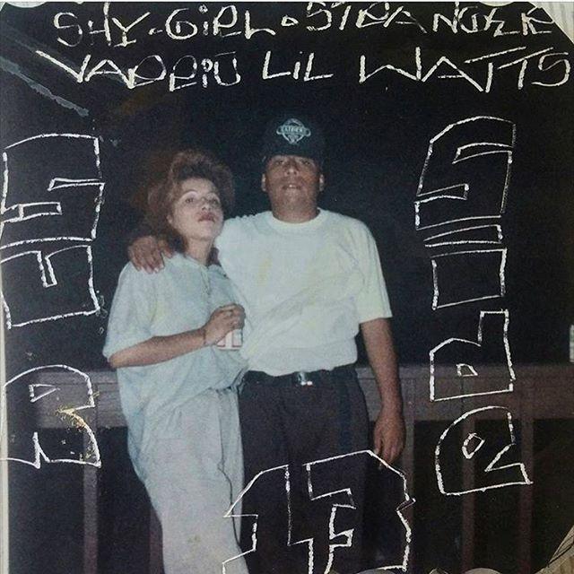 Shygirl & Stranger 1990 #Hawthorne #lilwatts photo: @_sleepygee )