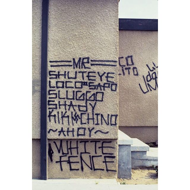 ~White Fence~ #BoyleHeights #LosAngeles #WF13 #70s