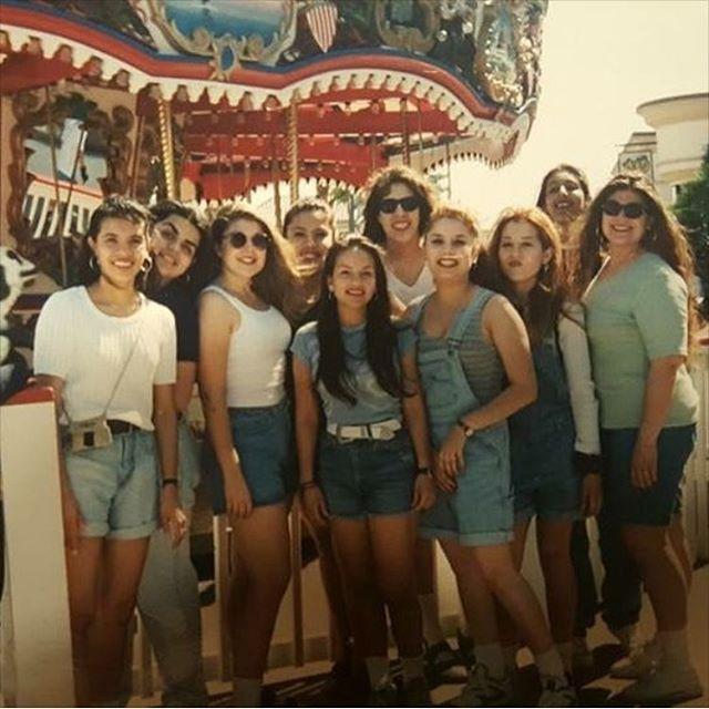 Senior ditch day 1995 Indio high school at mission beach  San Diego (photo: @xulitron )