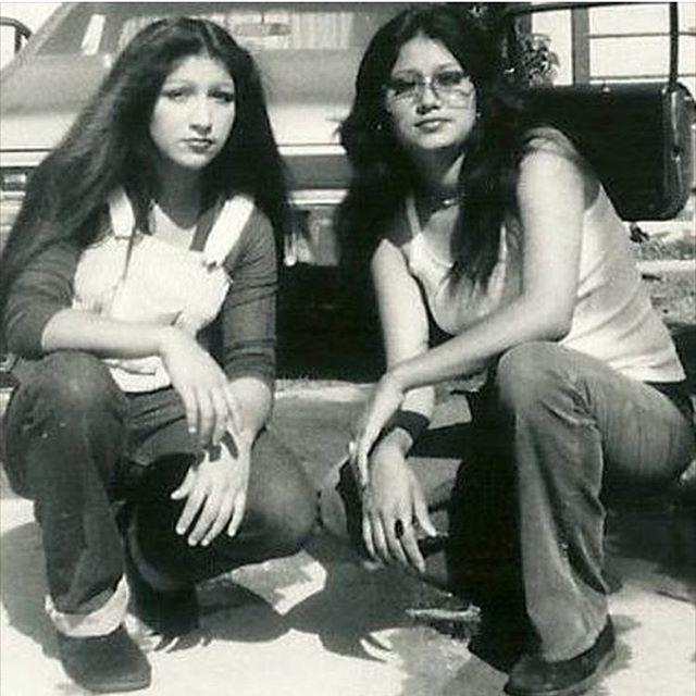 Alice Aranda on the left from Santa Ana 1972. F Troop (Photo: @geesands_213 )