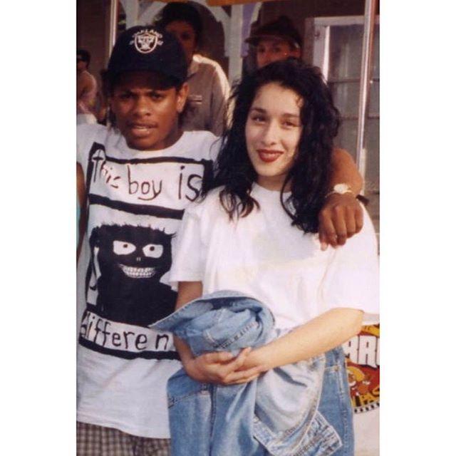 Eazy-E & Diana Marie (1992/3) At #MagicMountain