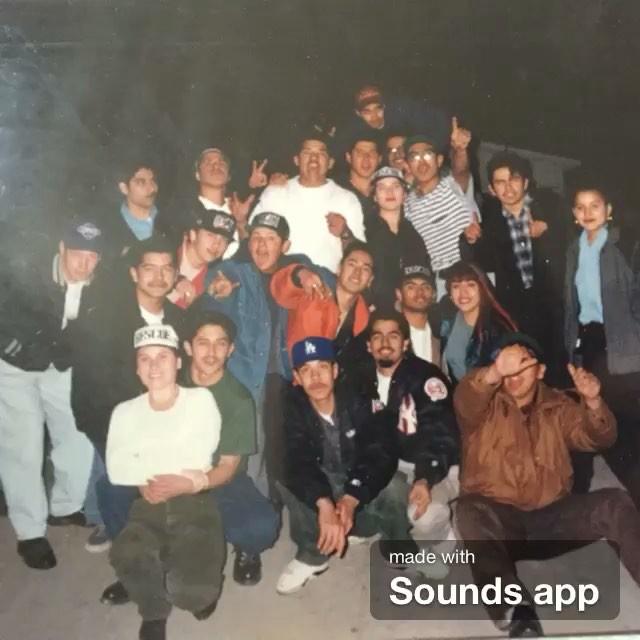  🔊R E S C U E party crew 🔊  #LAPartyCrew #BadBoyBill Techno Mix @djbadboybill early 90s (thanks Eddie for the photo)