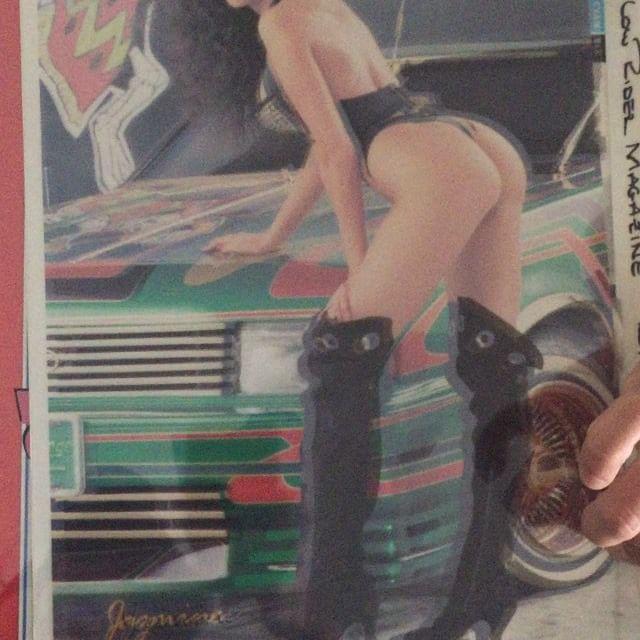 ~Jasmine~ 🎭 Cruising the Archives 🎭 original #Printingplates #veteranas_and_rucas