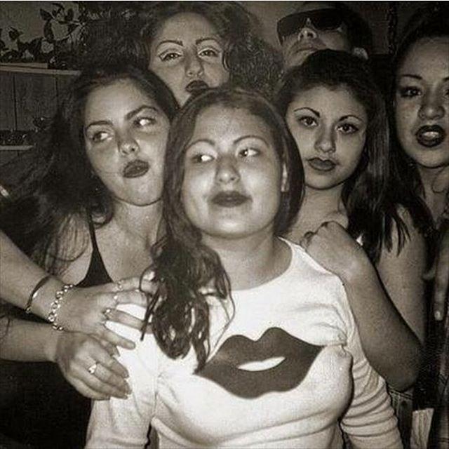 1995 #SGV Nasty Girlz Crew 🍒💋🍒 (photos: @mexadorian4u )