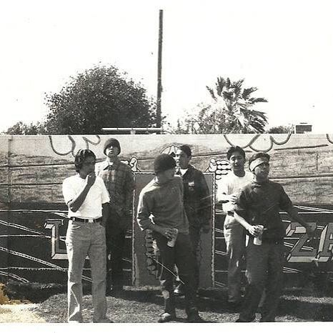 """Saturday feb 13  People in #SGV and anyone interested in muralism and El Monte art- please join SGV to learn about the lost murals of South El Monte and El Monte and to help envision the future of murals in South El Monte.  Artist Ron Reeder and Carribean Fragoza, co-director of South El Monte Arts Posse, will discuss the history of muralism in South El Monte and El Monte and share archival film and photographs of our lost murals from the """"East of East"""" archive. They will conclude the day with a muralism workshop by Mexicali Rose.  This event is part of """"Historia de los Moneteros: Murals, Activism, and Community in El Monte and South El Monte 1960s-70."""" Event info 1556 Central Ave, South El Monte, California 91733  Saturday 2-7pm"""