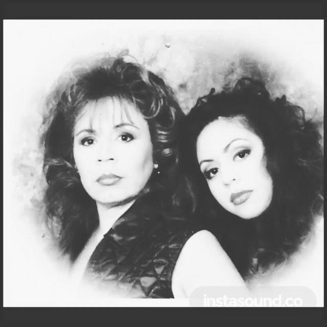 ♫ #LindaJones - Hypnotized - the homegirl@purhepecha and the jefita. Gracias ! We go way back! #LaPuente #SGV #EastLA 1995