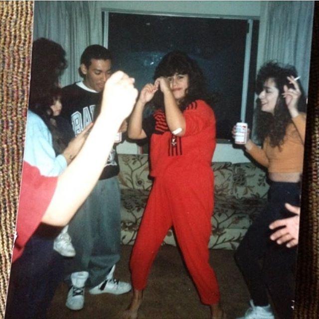 City of Whittier 1987. House party on Washington St. (Photo: @tyger.lil )