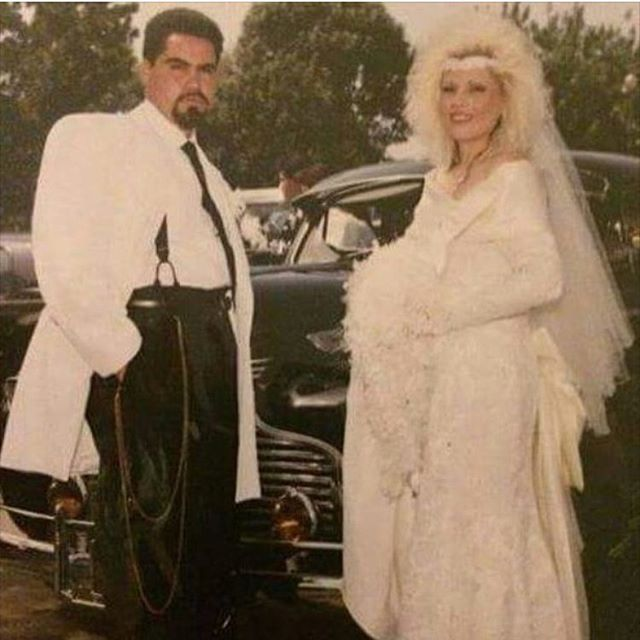 Laura and Jaime's wedding #Lawndale 1990