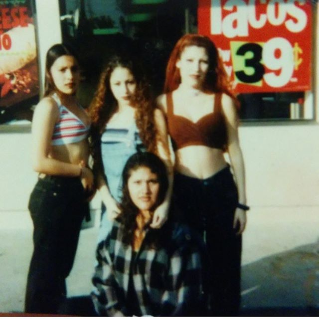 The homegirls from #SchurrHigh back in 1997 #Montebello Dayz #Wilcox #90640