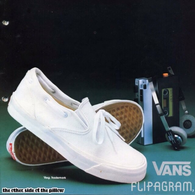 ~Those slip on vans tho~ Leaving this here for a min to see how many of you remember or had these shoes.