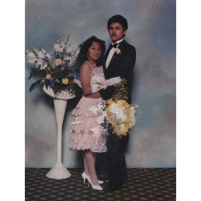 80s Raised in #LA #Koreatown on Hoover st. Graduation photo Taft High School in the valley. (Photo: @steveacevedo )