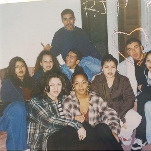 Rated-X and #SGV Nasty Girlz crew 1995 (photo: @mexadorian4u )
