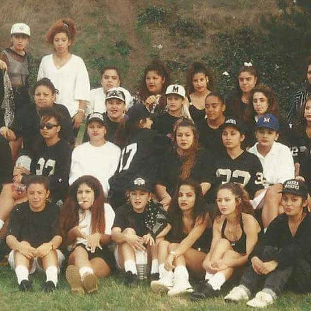 ~ #SantaMonica Girls~ From The WestSide ~RIP Sneaky S.M. Gang 17Th Street 🎭 (photo: @monig40 )