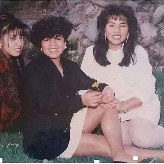 #wilmington #califas Gloria , Maria , and Yolanda. 1990 💋