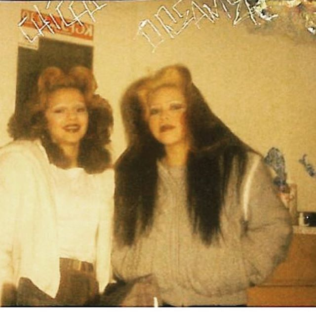 🎭~Compton Locas~🎭 Chica (RIP) and Dreamer 1985 #Compton #SouthernCali #OGs thanks @darla37