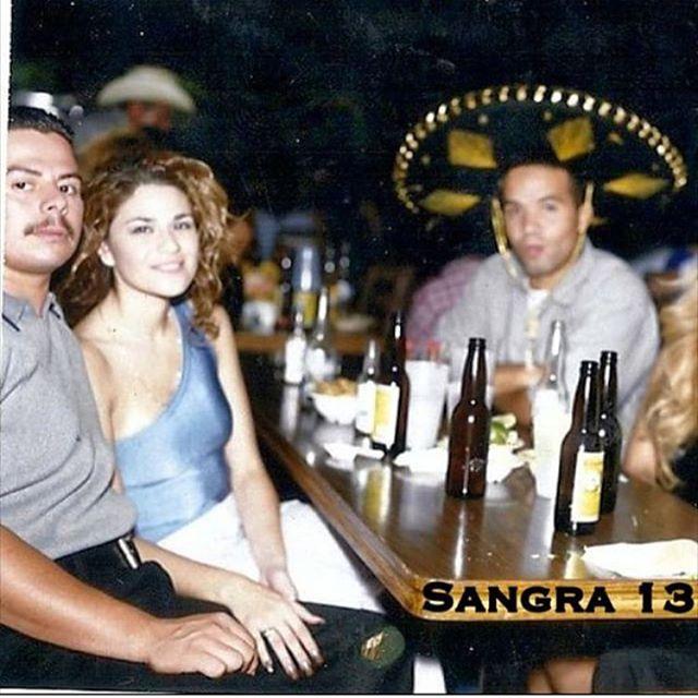 """""""El mercadito East Los"""" 1998  VARRIO SANGRA 13 (photo by : @luisraygoza1 )"""