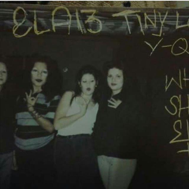 1989 East La Tiny Locas  #EastLosAngeles (photo: @eileenretana )