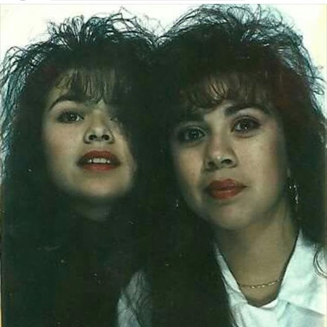 Becca & Christine 1989  #Covina (photo: @ms_becka_g )