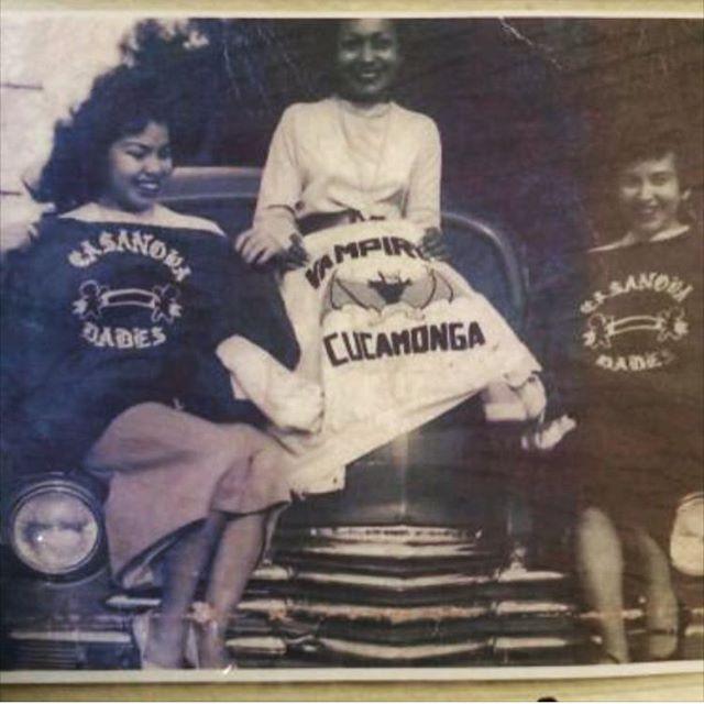 Casanovas Car Club Claremont Calif. and Vampires Car Club Cucamonga Calif. (photo: @ipartoutchevys )
