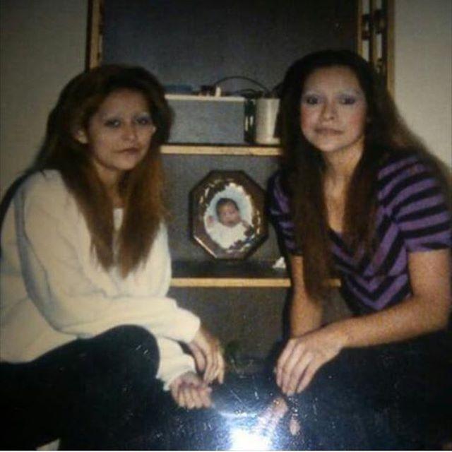 Pebbles RIP and Mary Ann. City Of San Fernando. Early 80s. ( Photo: @mr_rodriguez_818 ) #SanFernando 🎭