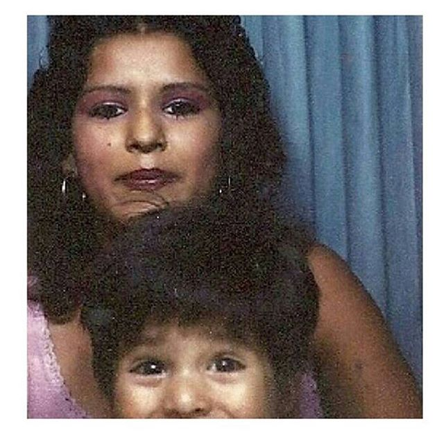 Tia Letty and @jessemblue circa 1985 #Boyleheights #EastLA photo booth