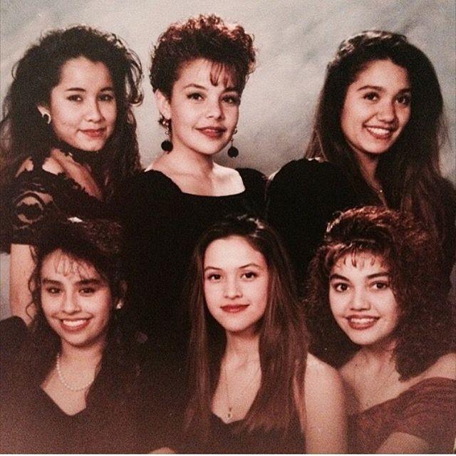 Santa Ana High School circa 1990/1991. ❄️Winter Formal❄️ #SantaAna #Califas (photo: @_darling_erica )