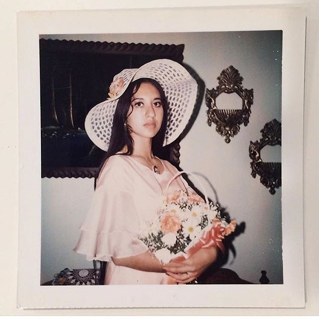 1973 At her homegirl's Quince 💝 (photo: @clickicity )