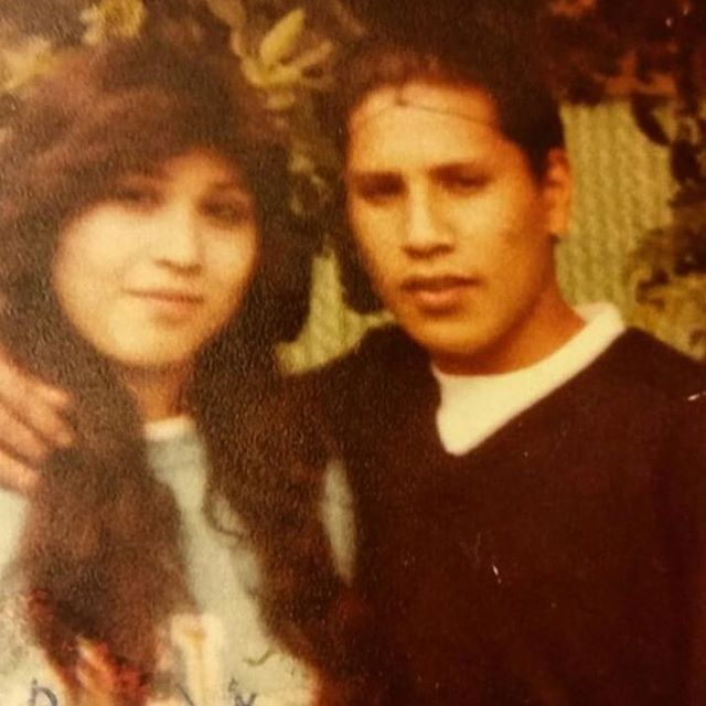 Sandra And Romeo Cortez 1983 #Venice13 Jokers and Avenues (photo: @tecolotl66 )