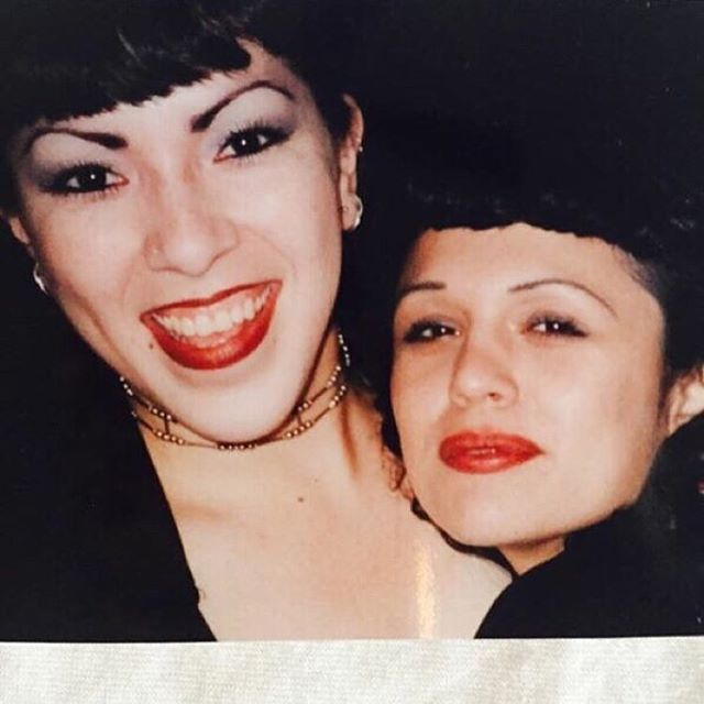 The homegirl @twatwolf__ on the right 90s #LosAngeles #California 👌 #KROQ ? 😁