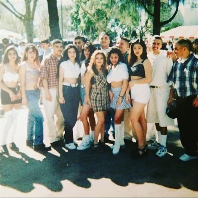 Success Crew West LA. At the LA Lowrider SuperShow mid 90s (photo: @soothsayer_signs )
