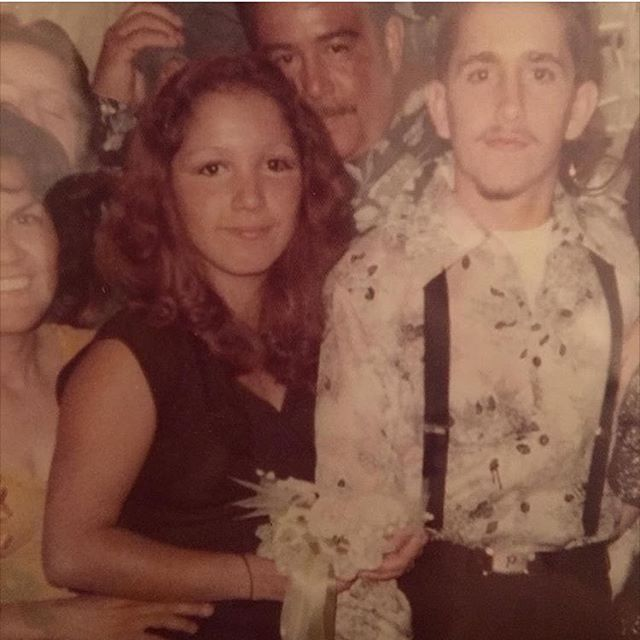 Nancy and Porky East Side Bolen 1974 (photo: @mexadorian4u )