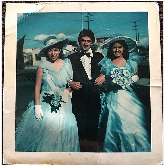 #SouthCentral Quinceañera 1980 (photo : @jessemblue )
