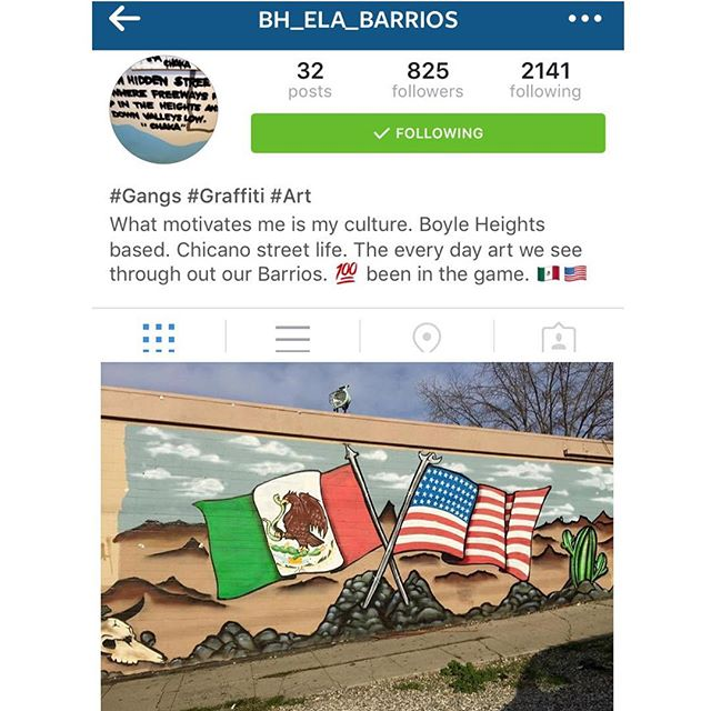 Check out the homie's new page @bh_ela_barrios and show some #eastside love 🌹
