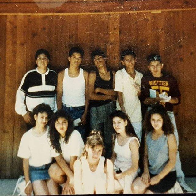 Dexter Jr high ditching party. summer 1988 Whittier, CA (photo: @1965ss )