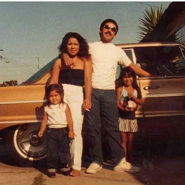 @167thstreet 's sister, lulu and brother peanut 1980s #Lawndale #Califas