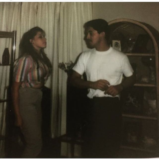 Peter and Lidia dancing at the pad , Orange County Santa Ana 1985 🍊( photo by: @supersport_oc )